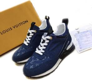 acheter shoes women louis vuitton denim imprime